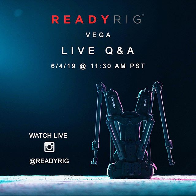 Join us tomorrow on Instagram live @ 11:30 AM PST for in-depth demo and Q/A of the VEGA upgrade ⚡️