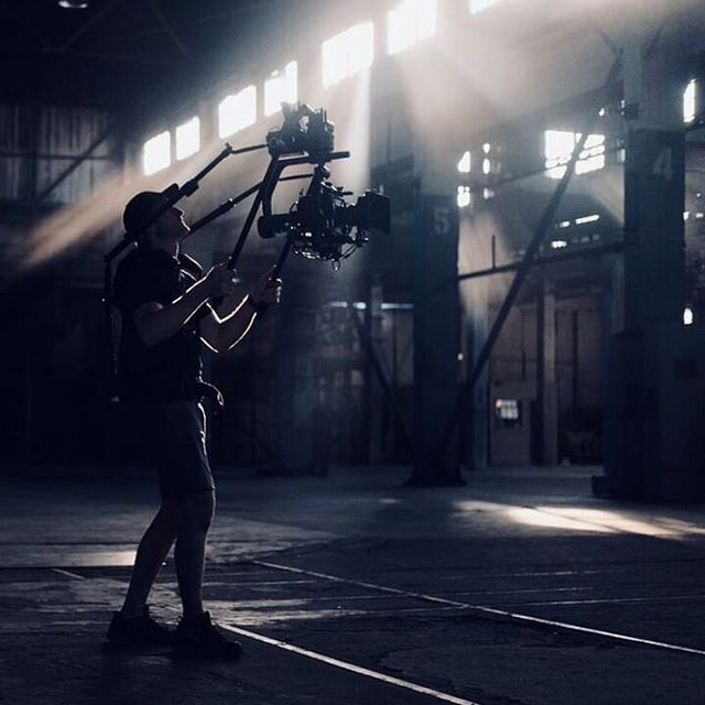 @andrewlikescoffee making the #cinemilled Extension Arms look EPIC on set. ⚡️ * We love seeing your content! Tag or DM us so we can share! * •