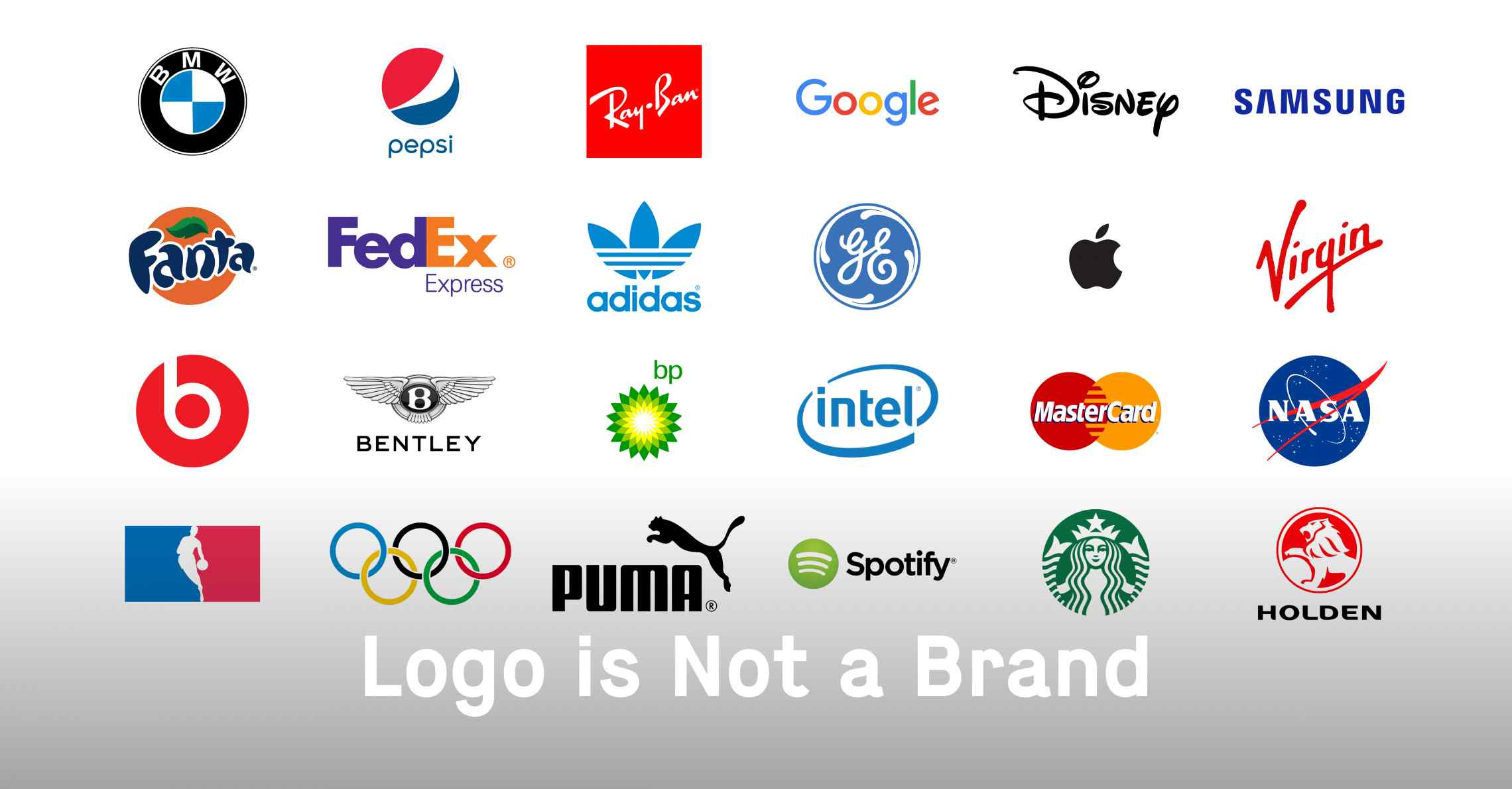 A Logo is Not a Brand... But What is the Difference?