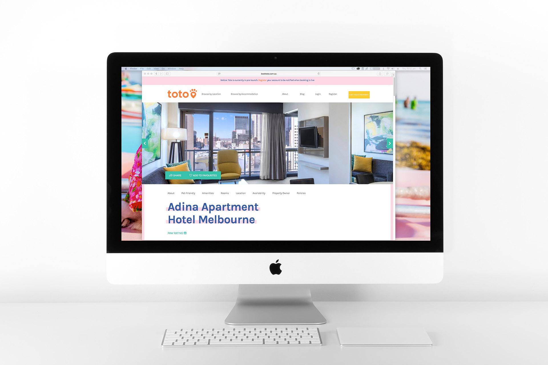 Toto Australia branding, website design and digital marketing