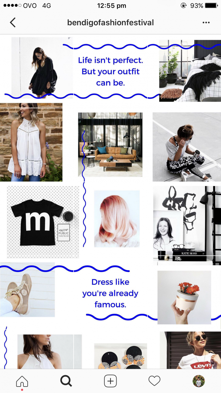 Bendigo Fashion Festival – Successful Bendigo Instagram Business
