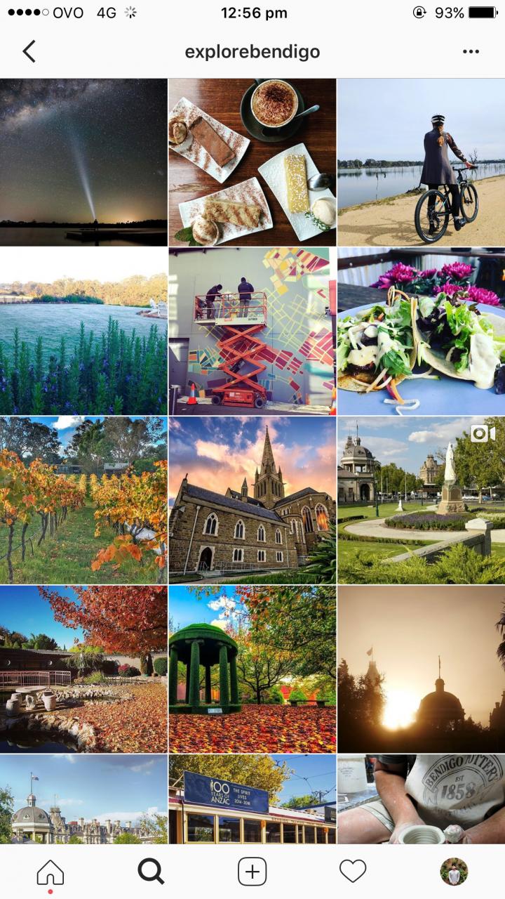 Explore Bendigo – Successful Bendigo Instagram Business