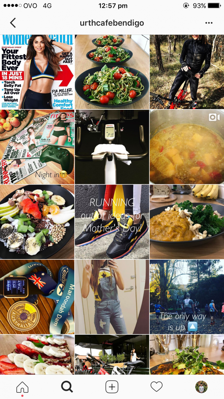 Urth Cafe – Successful Bendigo Instagram Business