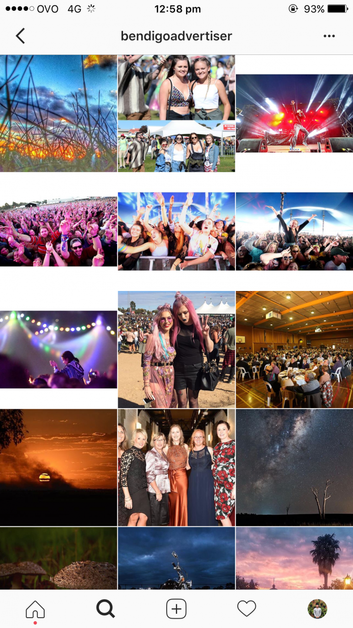 Bendigo Advertiser – Successful Bendigo Instagram Business