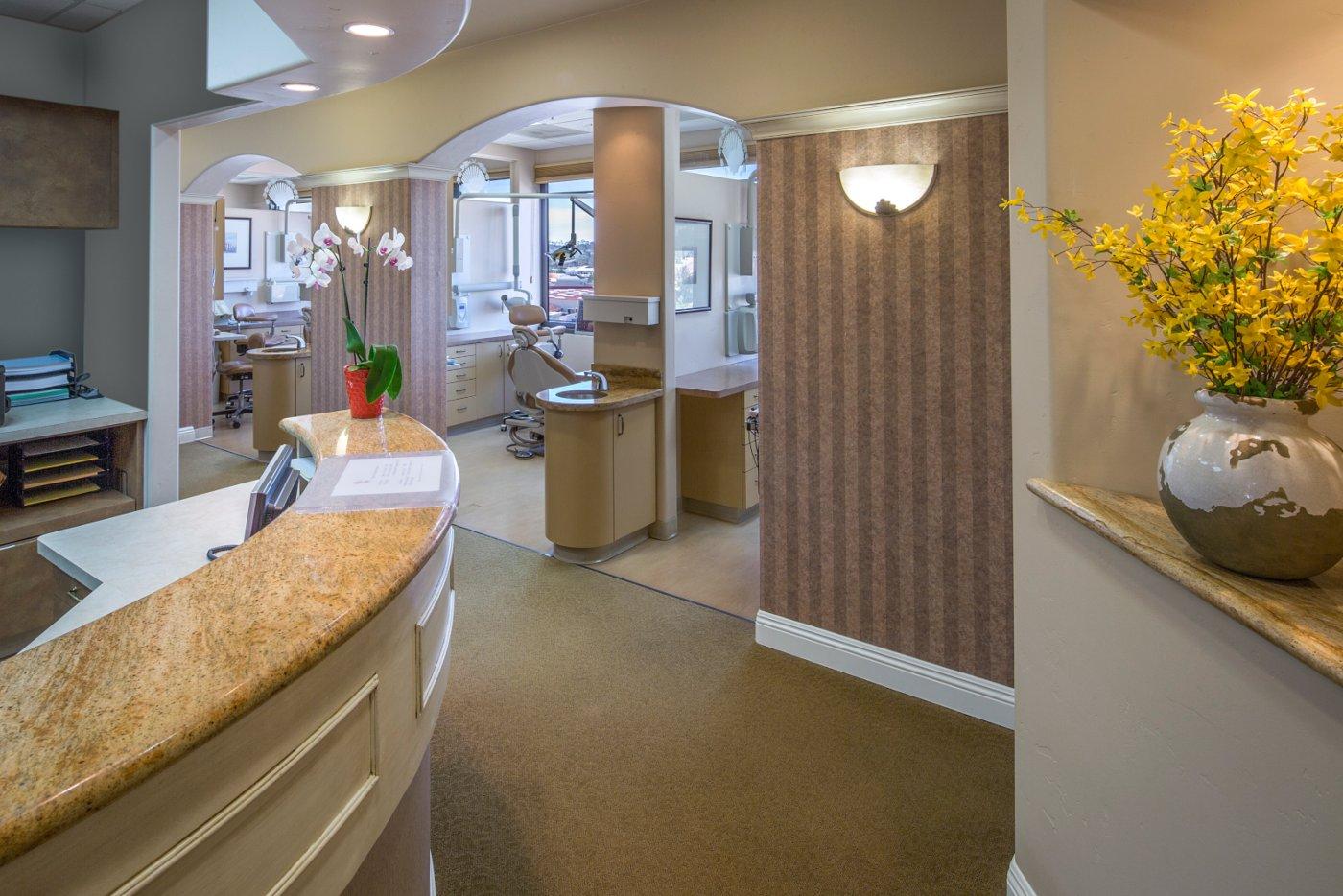 The office at Carmel Valley Dental