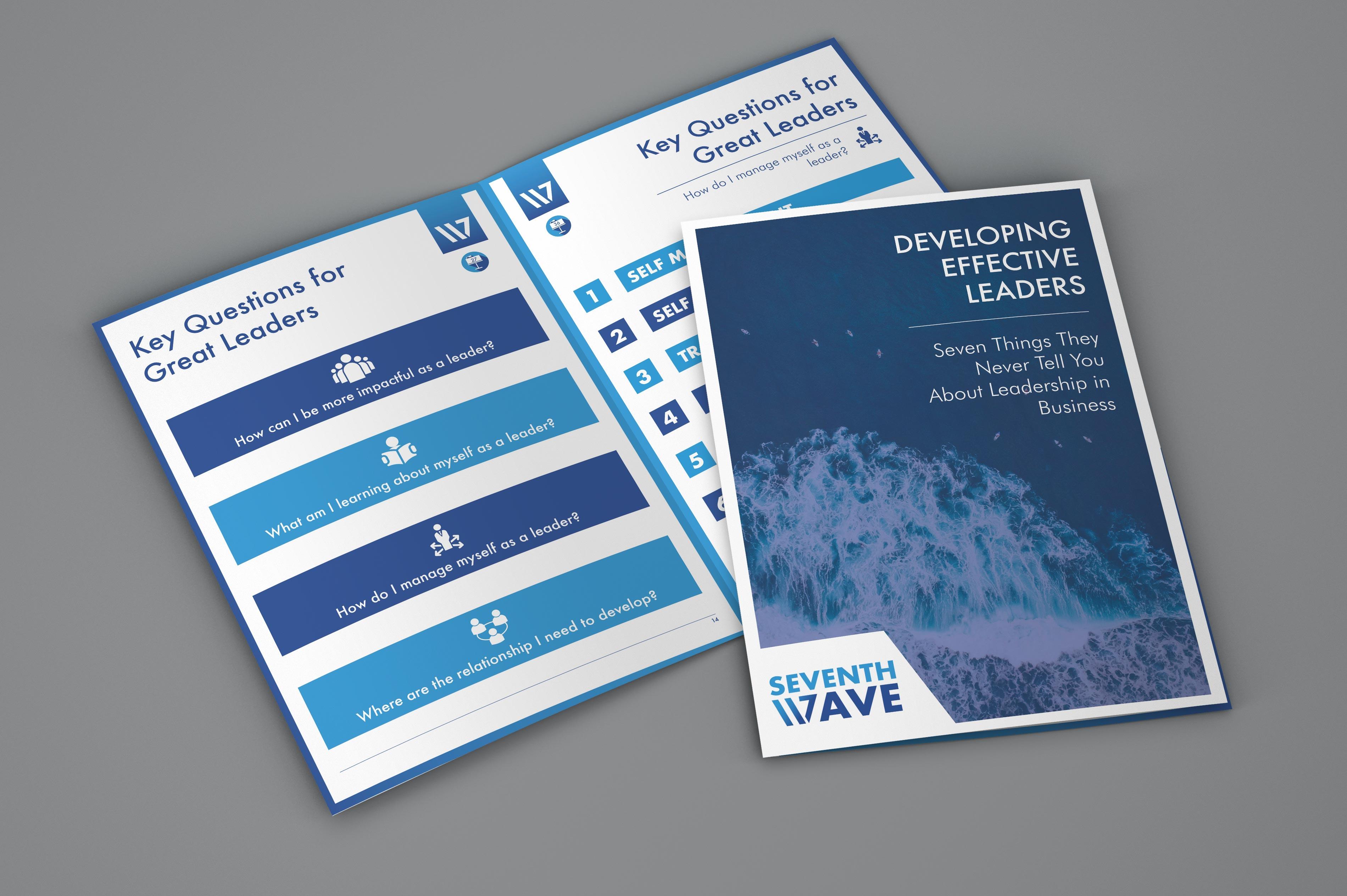 a seventh wave training brochure