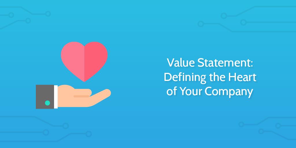value statements