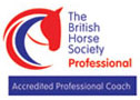 British Horse Society Accredited Professional Coach logo