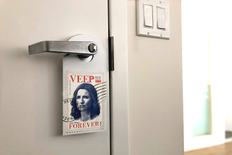 OOH advertising with door hangers