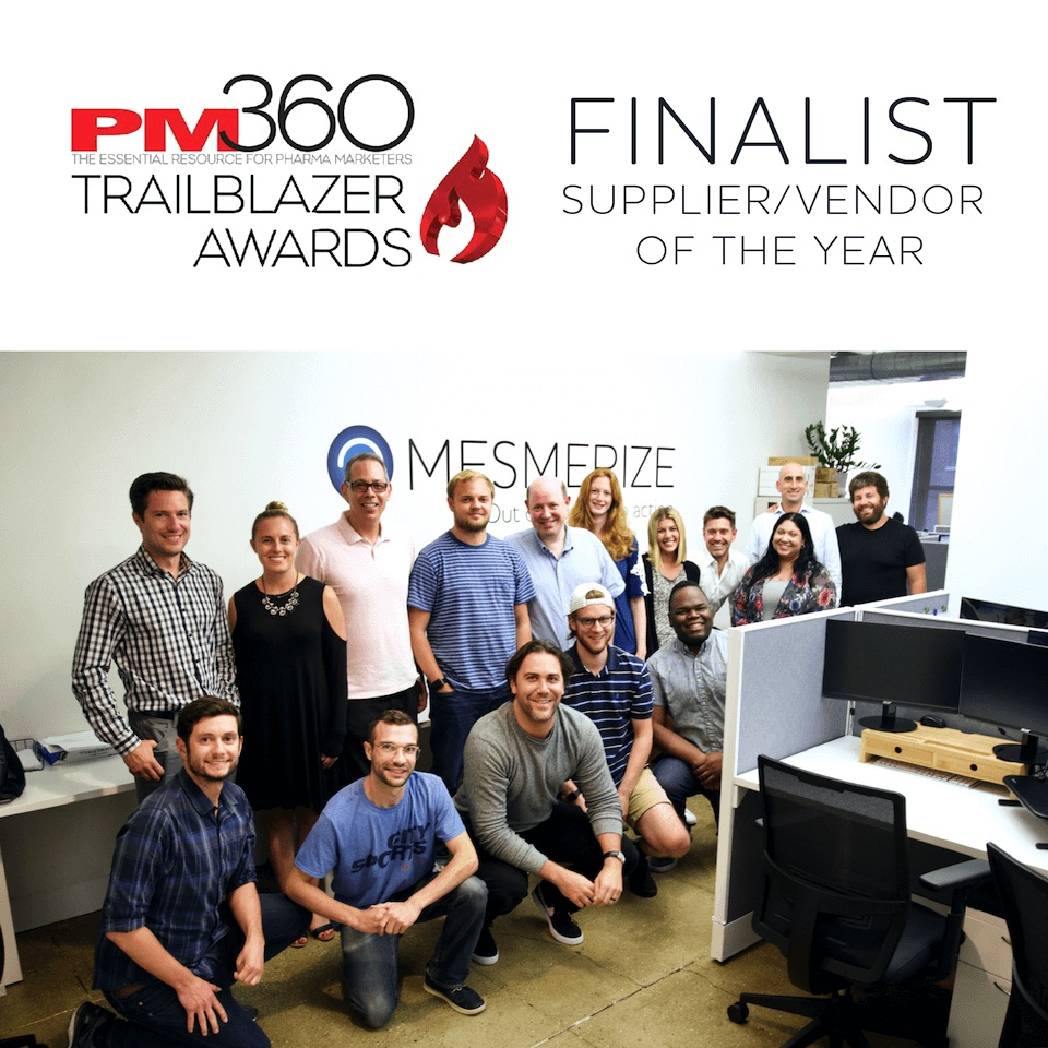 "Mesmerize Chosen as a Finalist for the 2019 Trailblazer Awards ""Supplier/Vendor of the Year"""