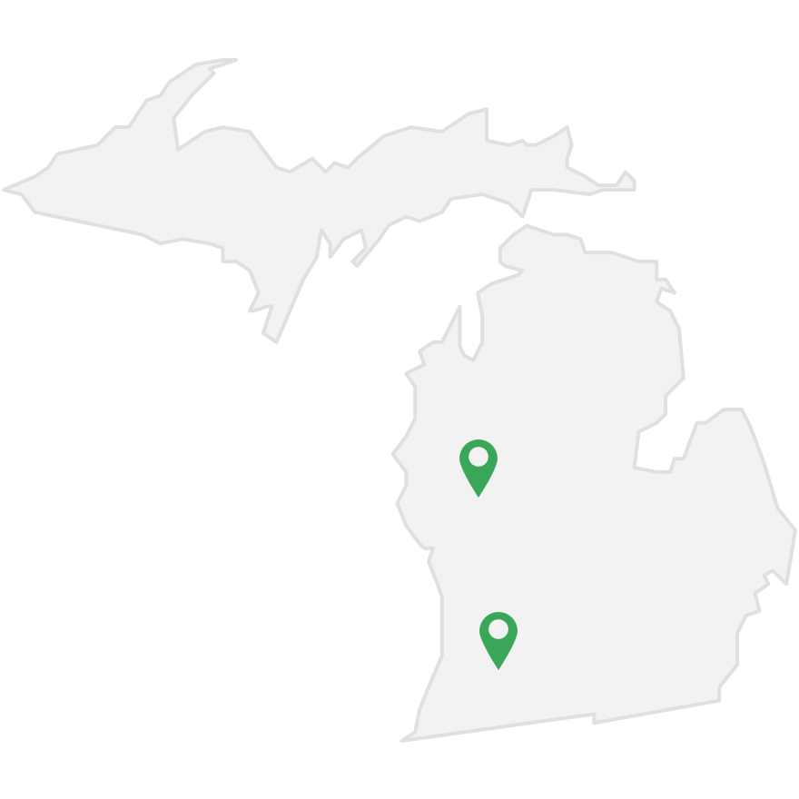 Mesmerize's transit advertising markets in Michigan