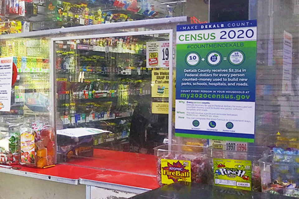 Convenience store posters