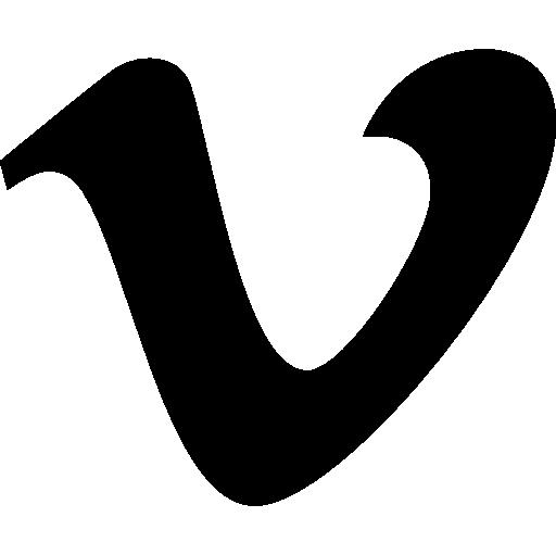 Vimeo Logo Black