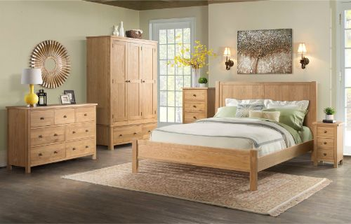 Devonshire Pine - Bedroom - Brough Oak