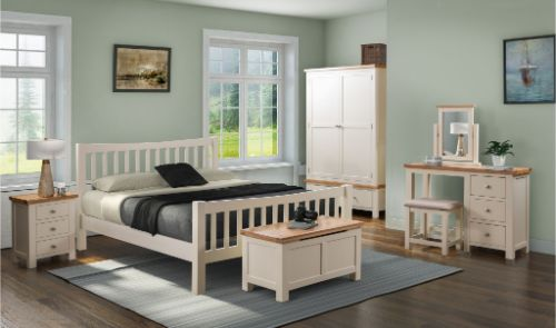 Devonshire Pine - Bedroom - Dorchester Painted