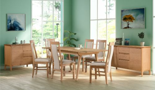 Devonshire Pine - Living & Dining - Cappa