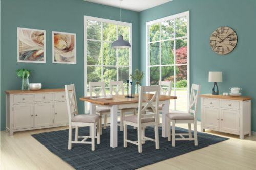 Devonshire Pine - Living & Dining - Dorchester Painted