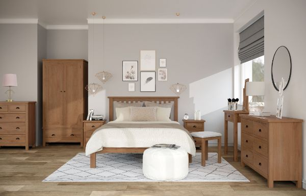 Kettle Interiors - Bedroom - Raywell Oak