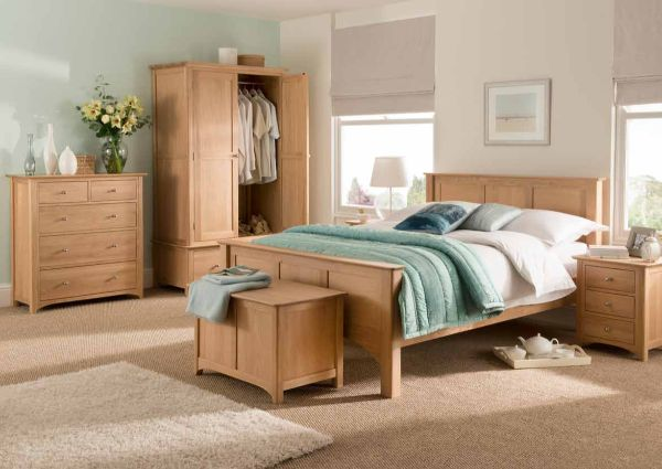 Fortune Woods - TADCASTER OAK - Bedroom