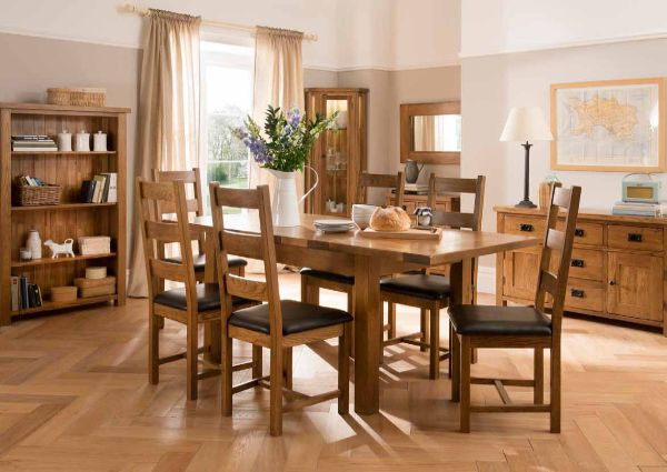Fortune Woods - SETTLE OAK - Living & Dining