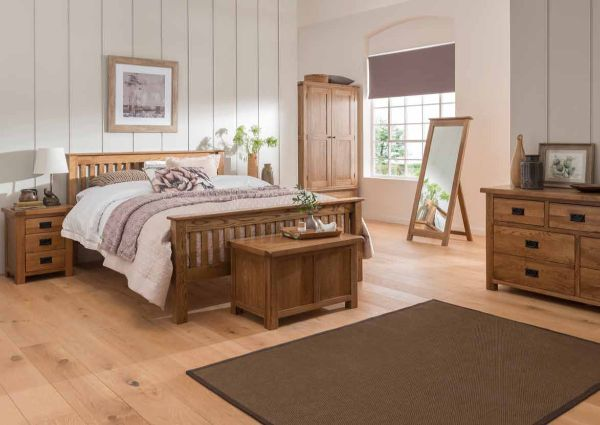 Fortune Woods - SETTLE OAK - Bedroom
