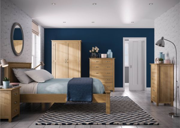 Devonshire Pine - Bedroom - Beverley Oak