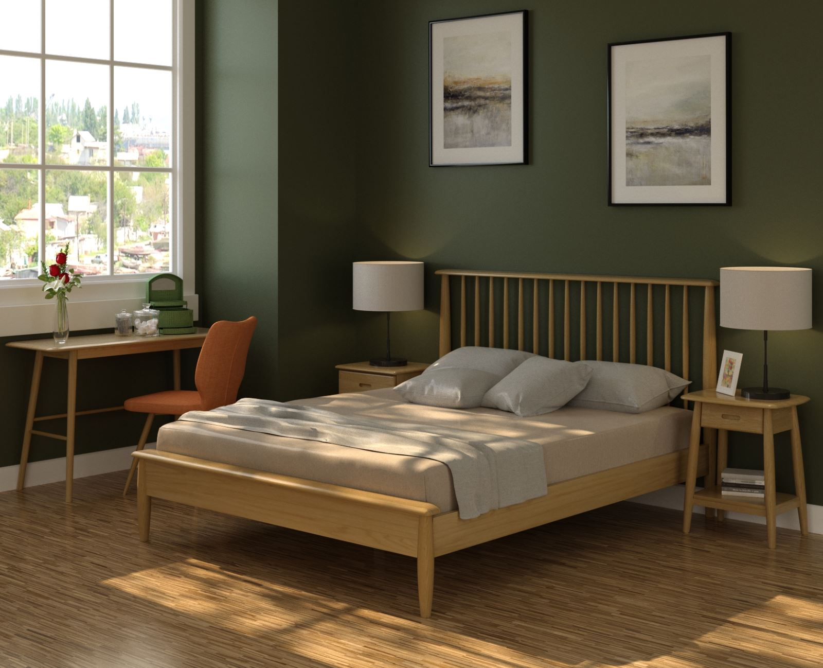 Classic - MASHAM - Bedroom