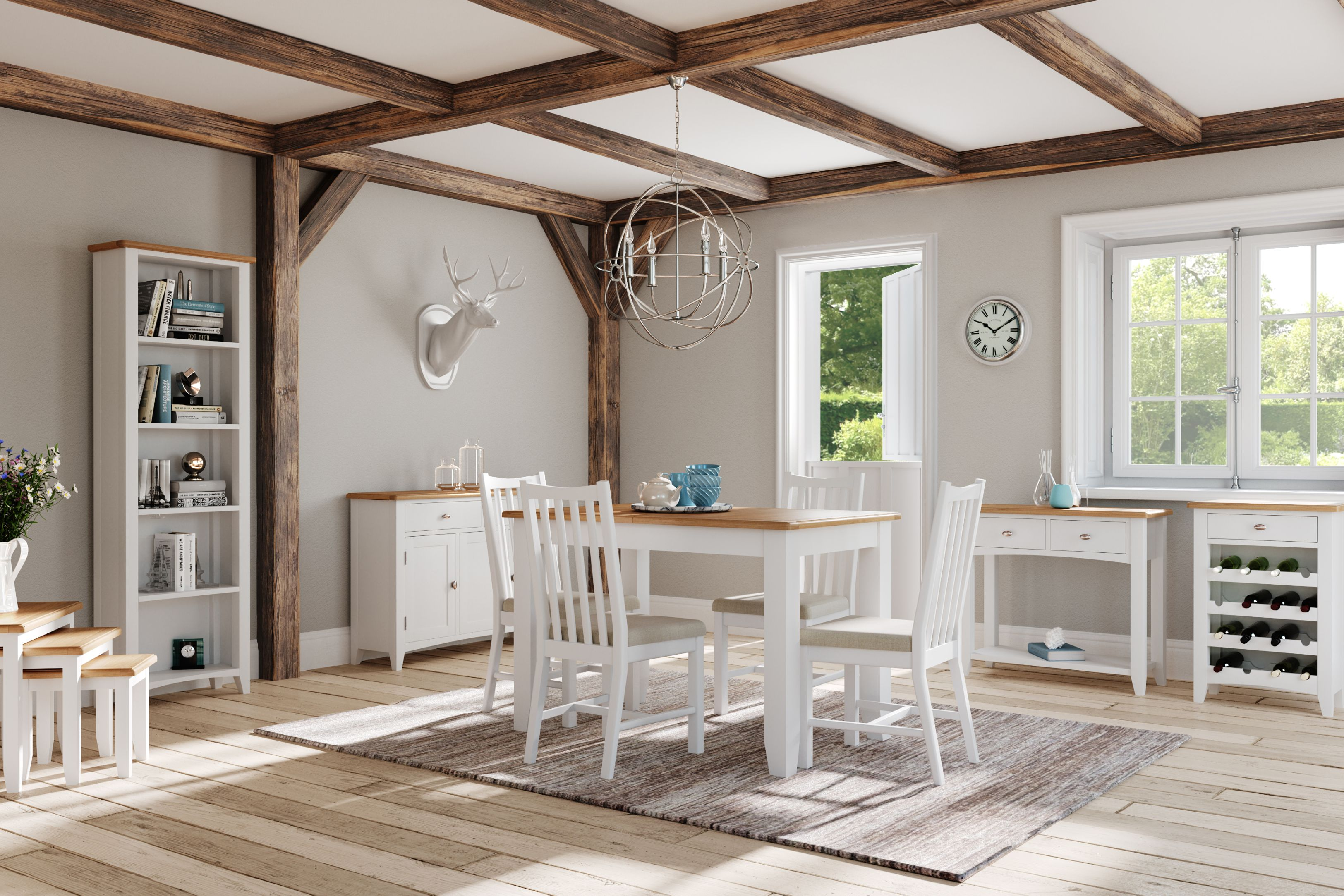 Kettle Interiors - GAINSBOROUGH PAINTED - Living & Dining