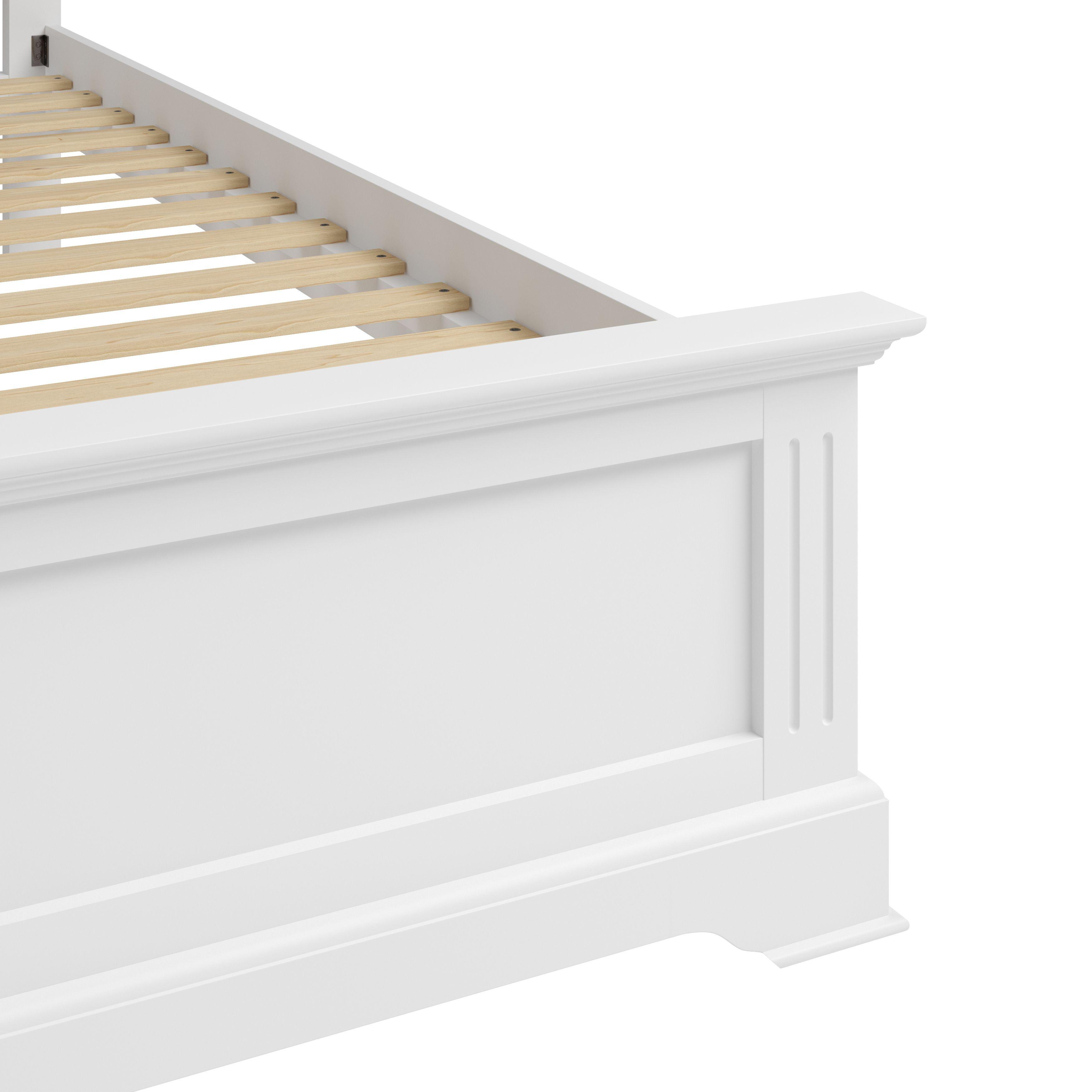 """EIFFLE WHITE - 5'0"""" Bed"""
