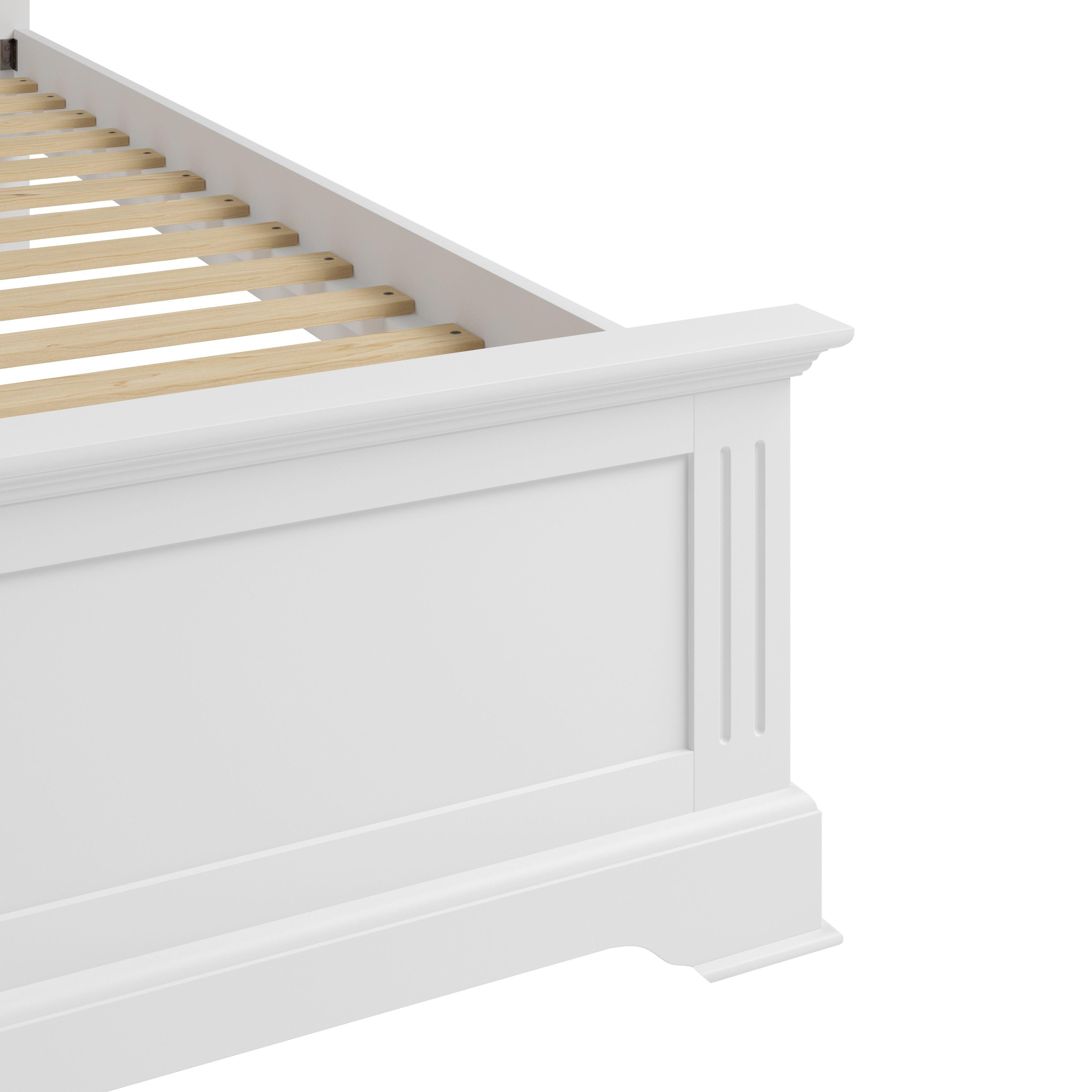 """EIFFLE WHITE - 3'0"""" Bed"""