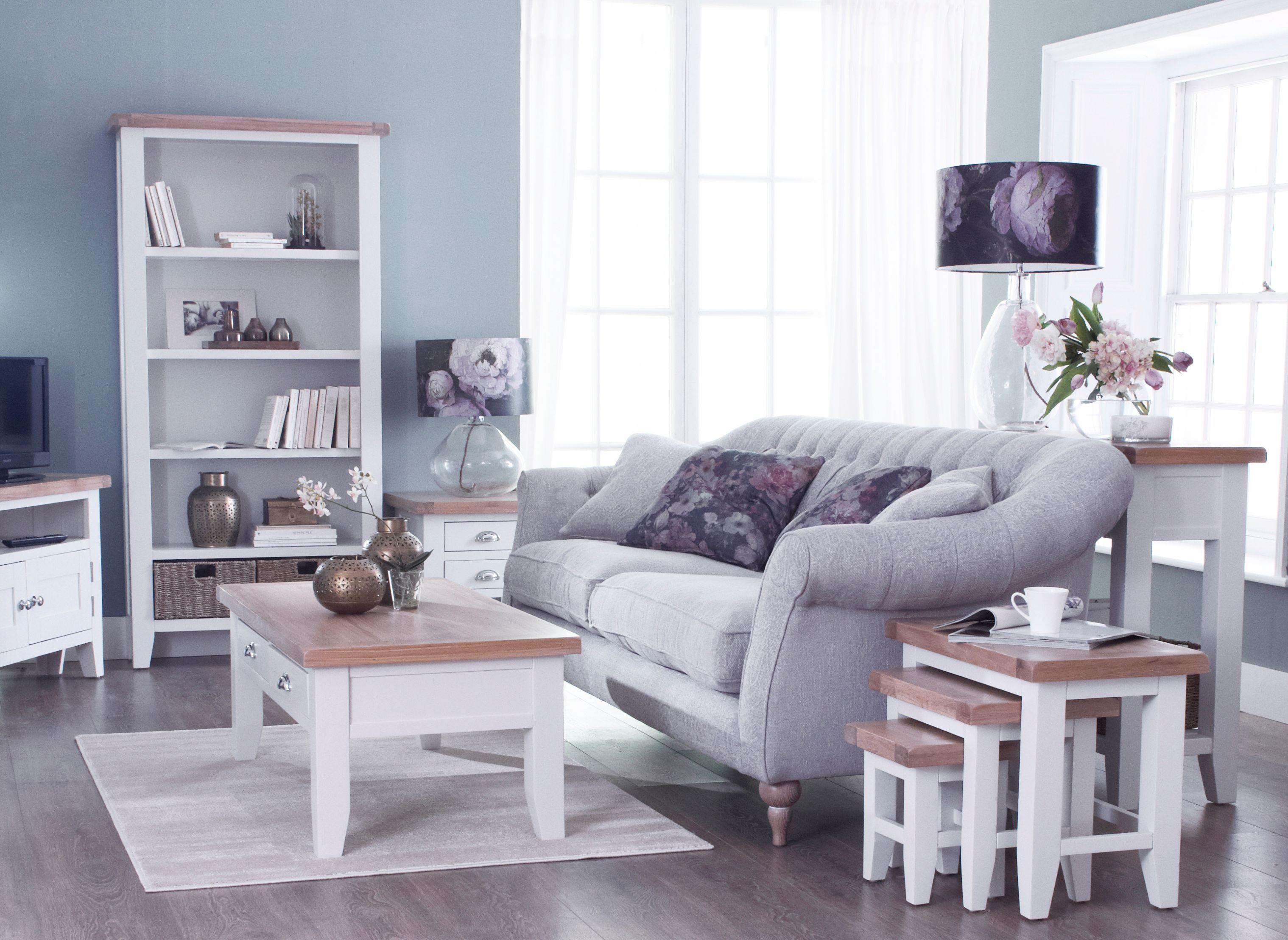 Kettle Interiors - TAVISTOCK WHITE - Living & Dining
