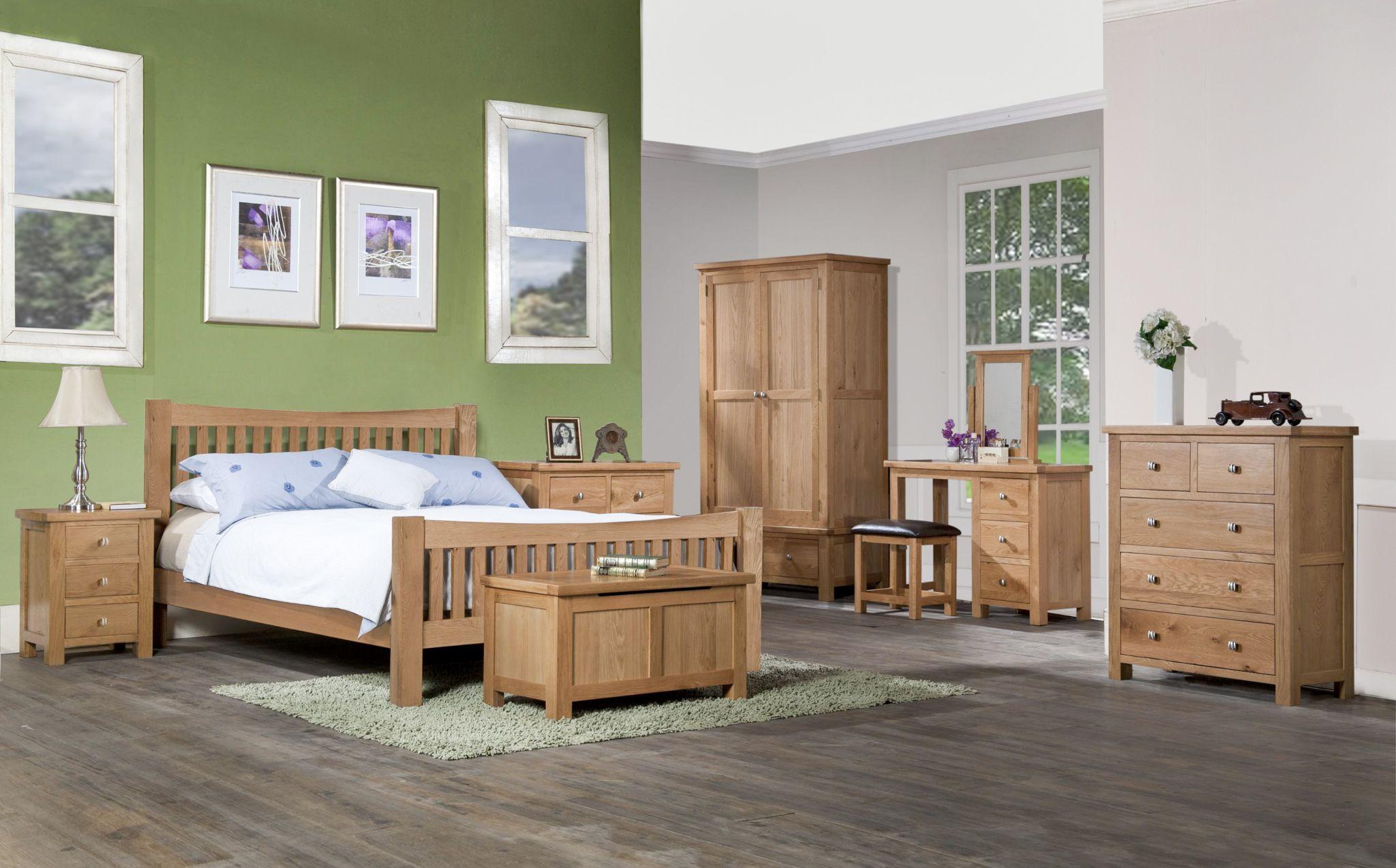 Devonshire Pine - DORCHESTER OAK - Bedroom
