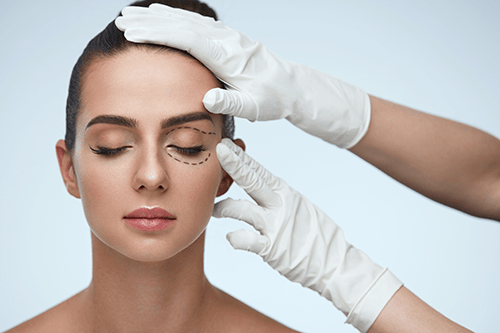 Our Aesthetics professionals can help you determine if you'd benefit from a blepharoplasty.