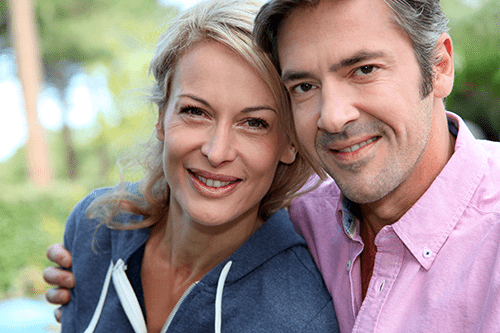 Couples can get facelifts to restore youthful appearance