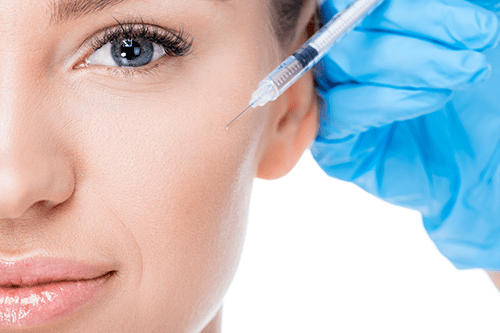 Injections to help your face restore youthful elasticity