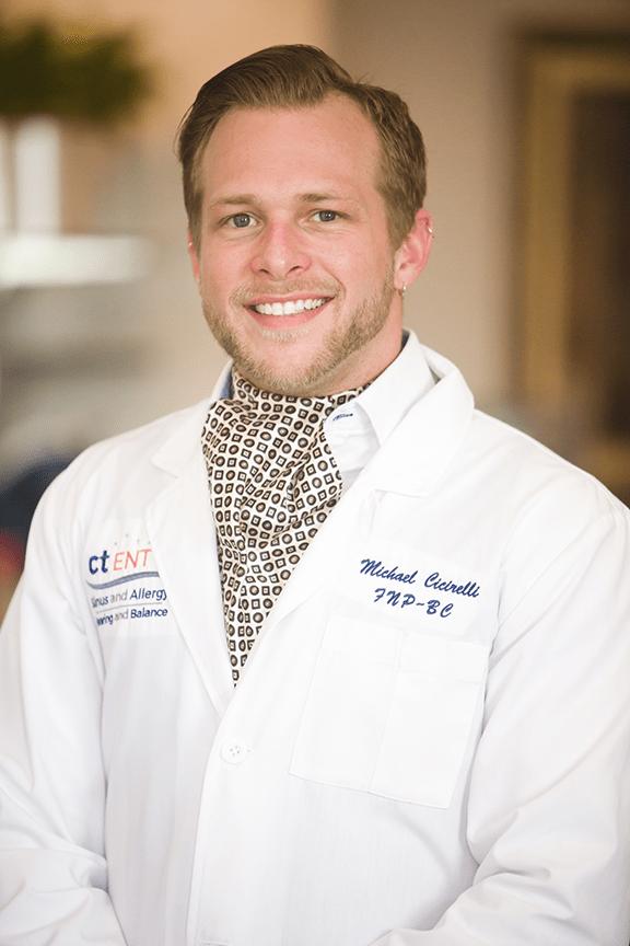 Meet Michael Cicirelli, CT ENT Nurse Practitioner