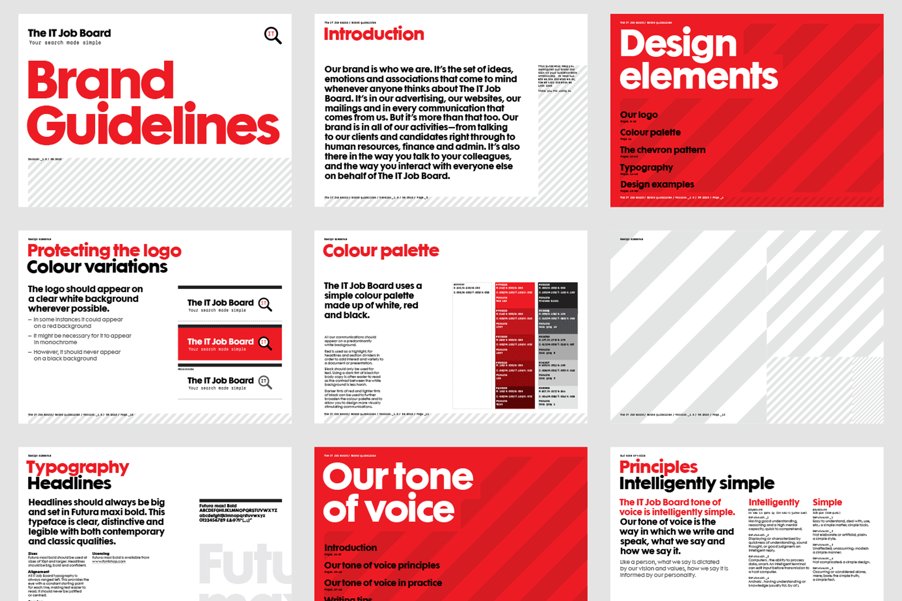 How do you make brand guidelines?
