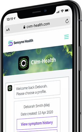 CVm-Health device