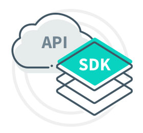 Can be provided as an SDK or as an API