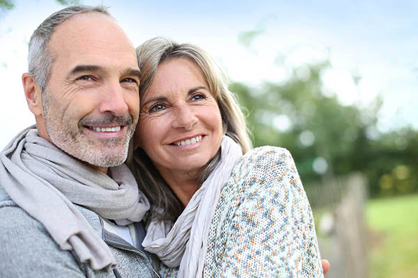 An older couple