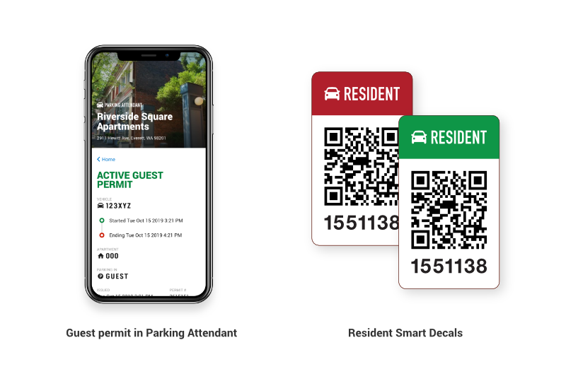 guest permit & Smart Decals