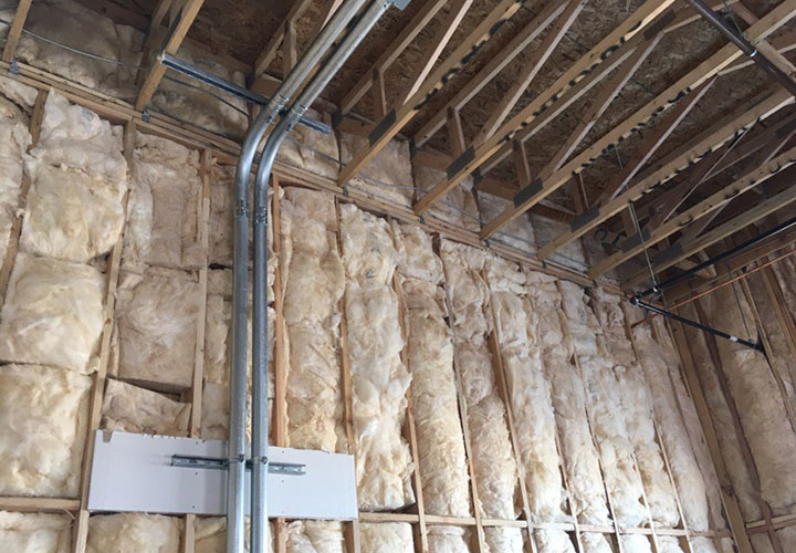commercial insulation project in las vegas