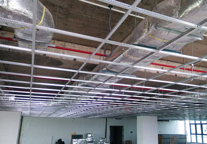 grid ceiling project in las vegas