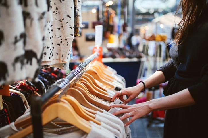 mercado de moda
