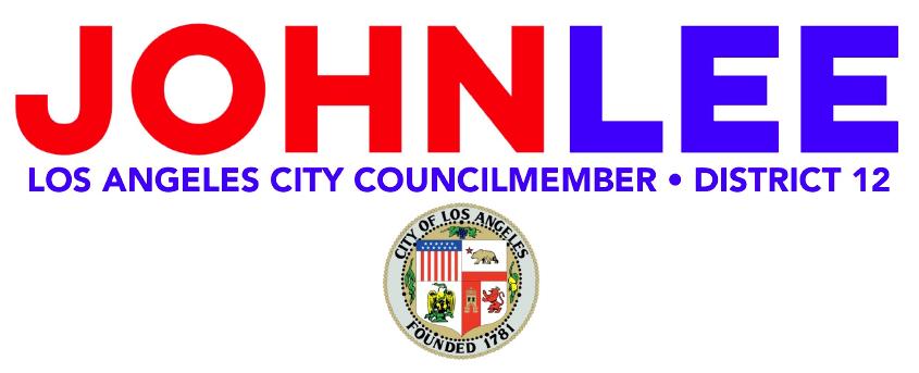 Councilmember John Lee Logo