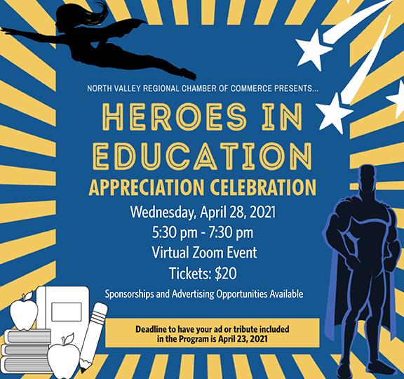 Heroes In Education Banner