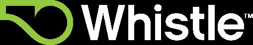 Whistle Logo - White