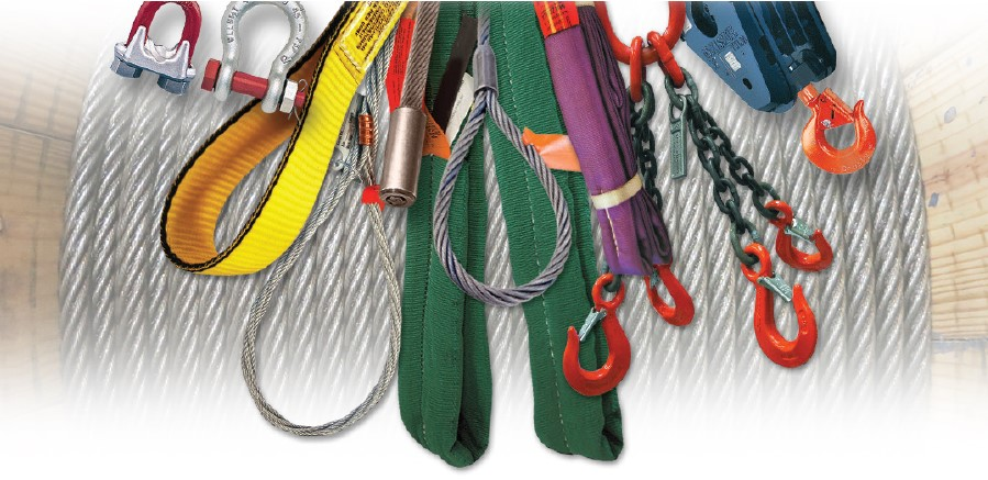 Lifting and rigging equipment and cable
