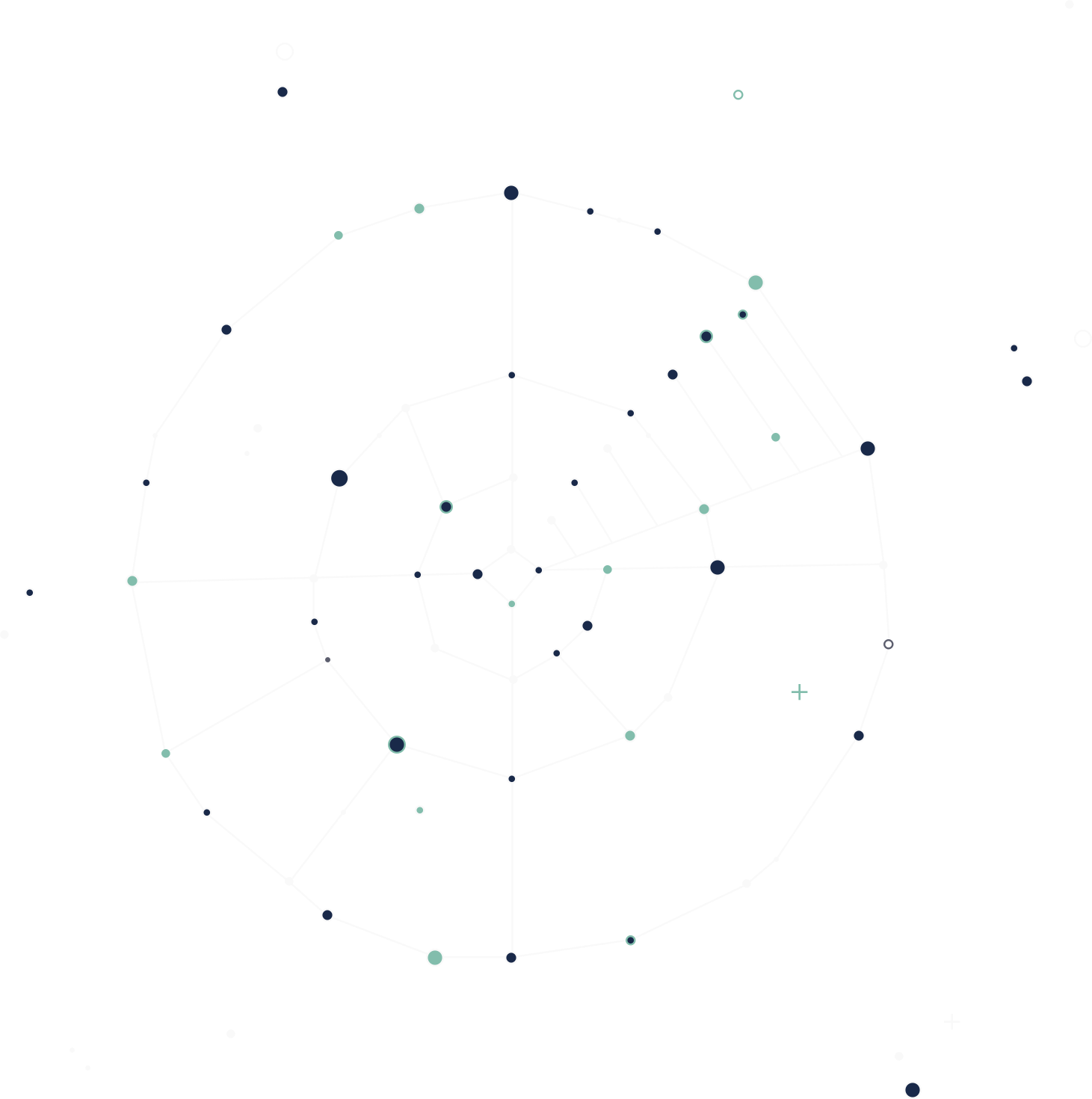A beautiful constellation featuring a target