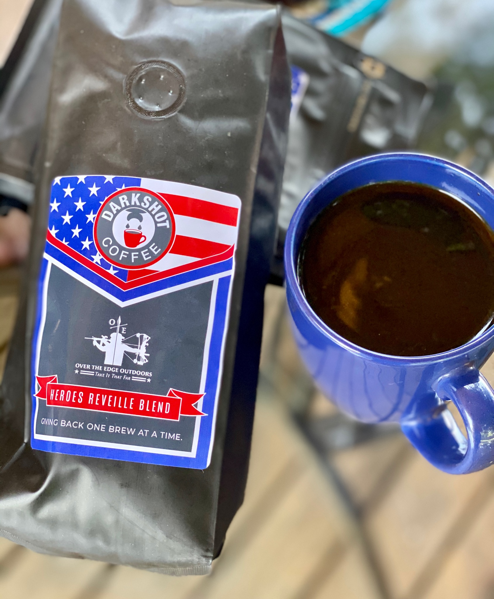 1 lb Heroes Reveille Expresso Coffee